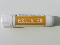 Headache Aroma Inhaler with Lavender and Peppermint Essential Oils