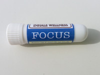 Focus Aroma Inhaler has Rosemary and Lemon Essential Oils to help you when need to concentrate and have clear thinking
