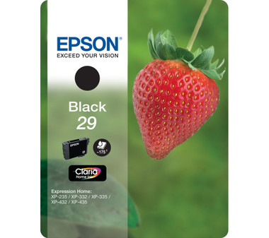 Epson 29 Claria Ink Cartridge - Standard Black