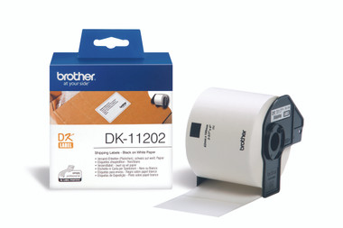 -Brother DK-11202 Shipping Label 62x100mm (Roll of 300)