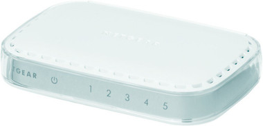 Netgear GS605 5-Port Gigabit Ethernet Unmanaged Switch