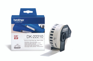 -Brother DK-22210 Continuous-length Label 29mm (30.48m)