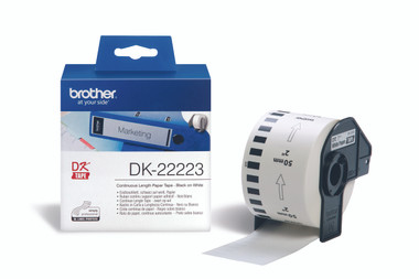 -Brother DK-22223 Continuous-Length Label 50mm (30.48m)