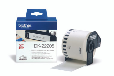 -Brother DK-22205 Continuous Length Label 62mm (30.48m)