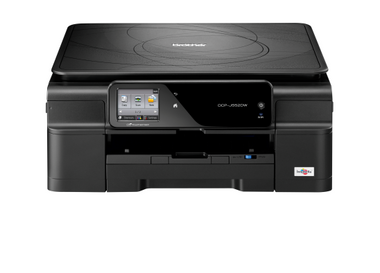 -Brother DCP-J552DW A4 Colour Inkjet Multifunction Wireless Printer (Print/Scan/Copy)