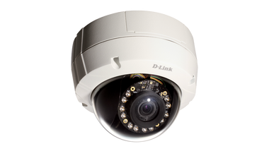 D-Link DCS-6511 Outdoor HD PoE Day/Night Vandal-Resistant Fixed Dome Network Camera