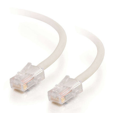 C2G 0.5m Cat5E 350MHz Non-Booted Assembled Patch Cable - White
