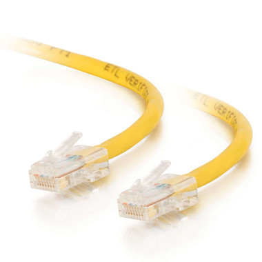 C2G 0.5m Cat5E 350MHz Non-Booted Assembled Patch Cable - Yellow