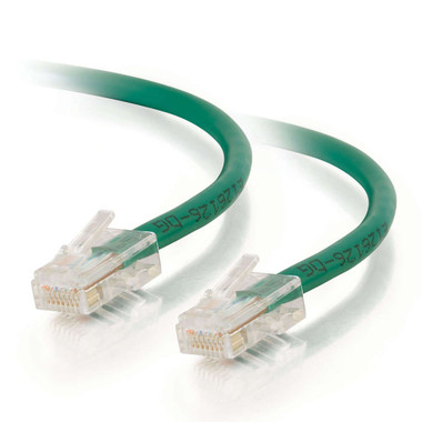 C2G 7m Cat5E 350MHz Non-Booted Assembled Patch Cable - Green