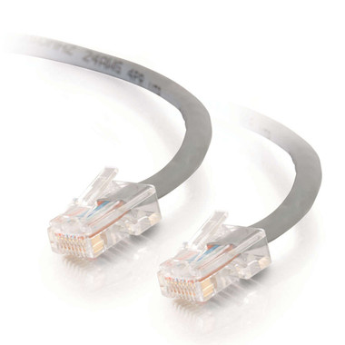 C2G 1.0m Cat5E 350 MHz Crossover Patch Cable - Grey