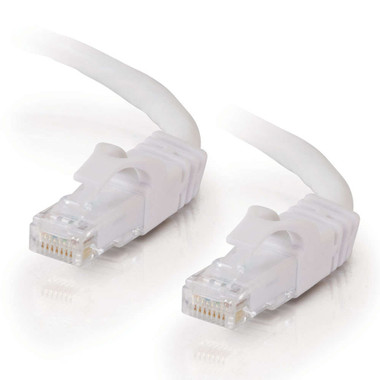C2G 0.5m Cat6 Booted Unshielded (UTP) Network Patch Cable - White