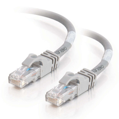 C2G 0.5m Cat6 550 MHz Snagless Crossover Cable - Grey