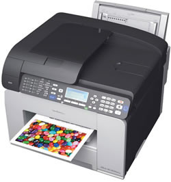 Ricoh 3110SFNw Colour Multifunctional Printer