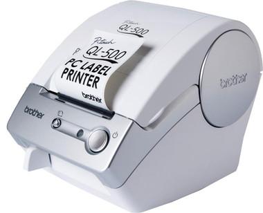 -Brother QL-500A Desktop Label Printer