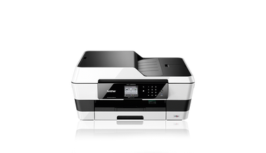 -Brother MFC-J6520DW A3 Colour Inkjet Wireless Multifunction All-In-One Printer