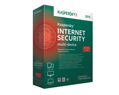 Kaspersky Lab KL1941UXCFS-5 - Kaspersky Internet Security 2015 Multi Device 3 User 1 Year Retail DVD Box (UK)