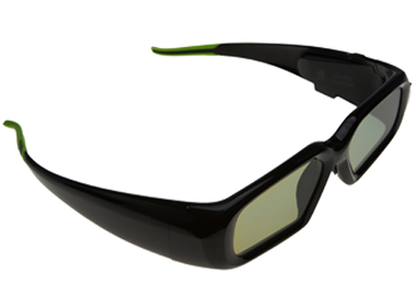 Nvidia Geforce 3D Vision Extra Glasses