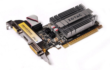 Zotac GT 210 1GB DDR3 PCI Express 2.0, 520MHz/1040MHz Synergy Graphics Card