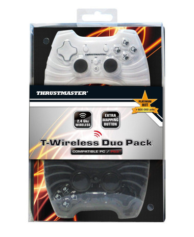 Thrustmaster T-Wireles Duo Controller Pack (PC/PS3)