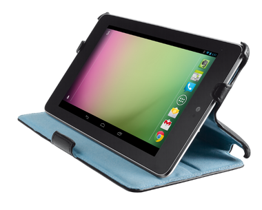 Trust Hardcover Skin & Folio Stand for Nexus 7