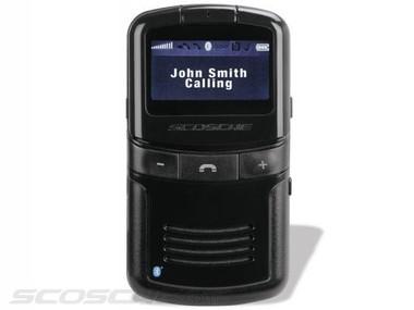 -Scosche Solchat VUE Solar Powered Bluetooth Speaker Phone