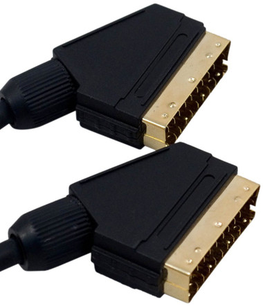 -Pro Signal 5M Gold Plated Scart Cable