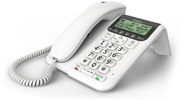 BT Decor 2500 Home Phone with Answering System - White