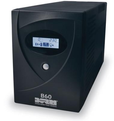 Borri B60 800VA UPS Tower, Uninterrupted power supply For Desktop
