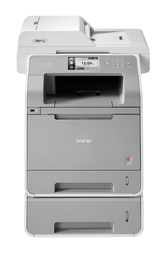 Brother MFC-L9550CDWT High Capacity Multifunction Wireless Duplex Wireless Printer + Extra Tray