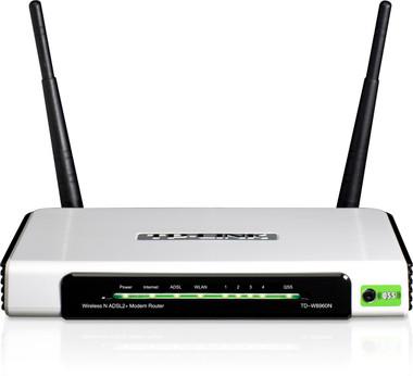 TP-Link TD-W8960N 300Mbps Wireless N ADSL2+ Modem Route
