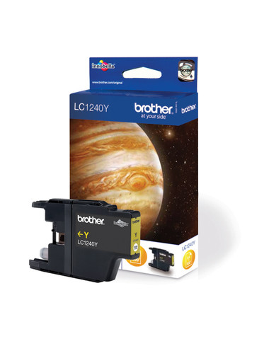 Brother LC1240Y Genuine Ink Cartridge - Yellow