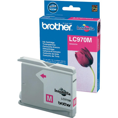 Brother LC970M Genuine Ink Cartridge - Magenta