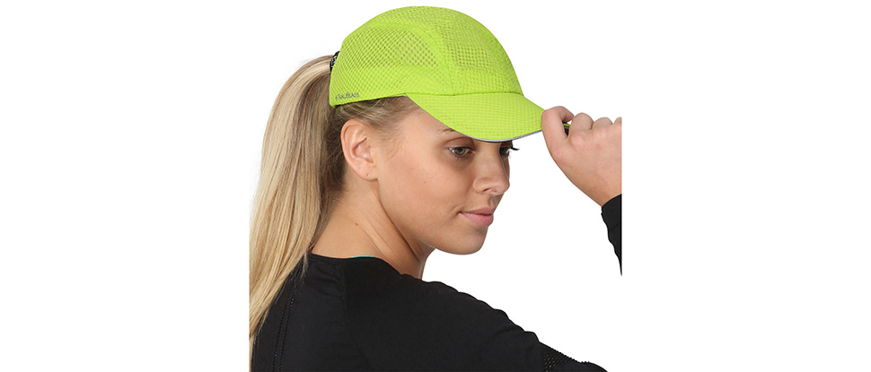 TrailHeads Women's Race Day Cap - cool green