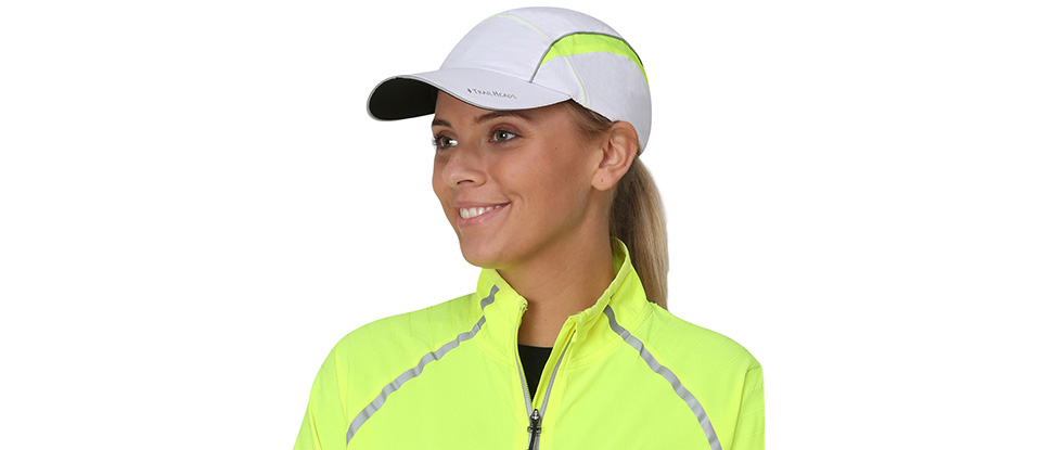 TrailHeads Women's Daybreak Ponytail Reflective Run Cap