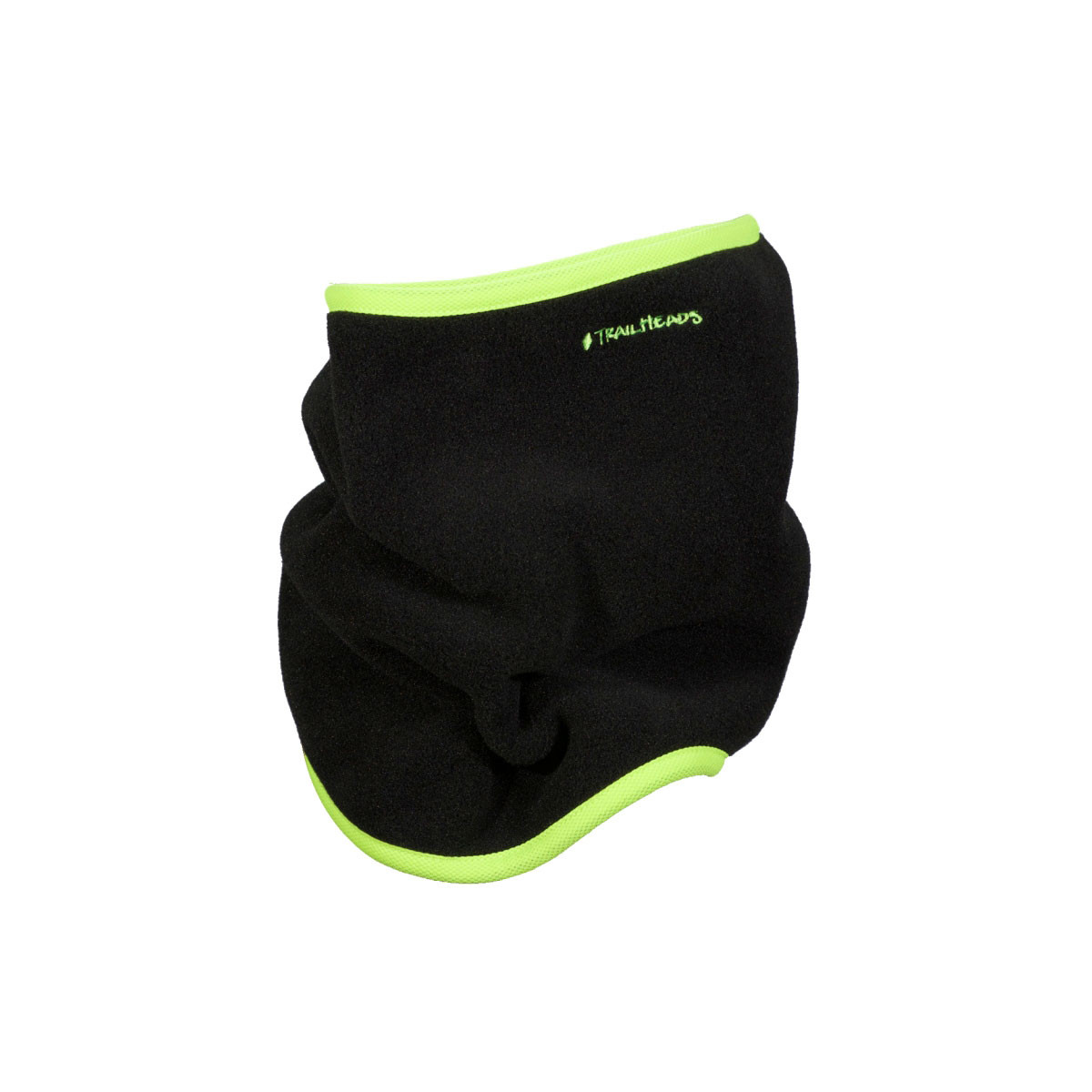 Fleece Neck Warmer/Gaiter - black / hi-vis