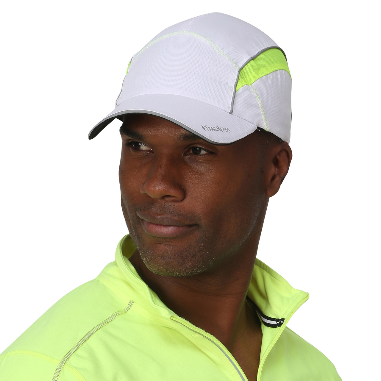 TrailHeads Daybreak Reflective Run Cap - UV 50+