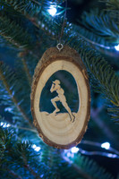 TrailHeads Runner Ornament - male