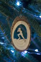 TrailHeads Runner Ornament - male