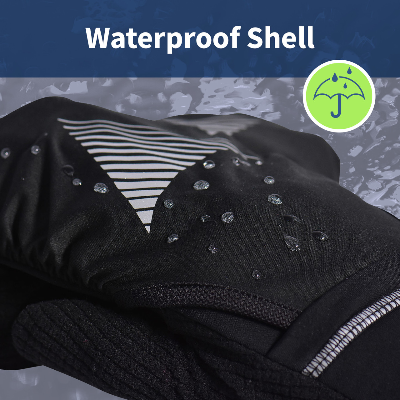water resistant mitten shell