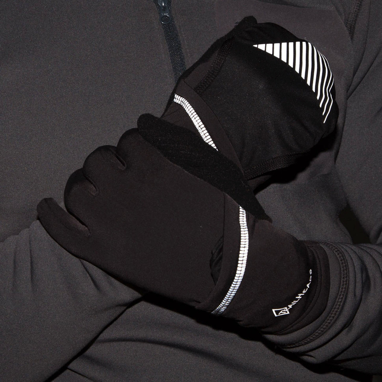 reflective design and stitching for added safety