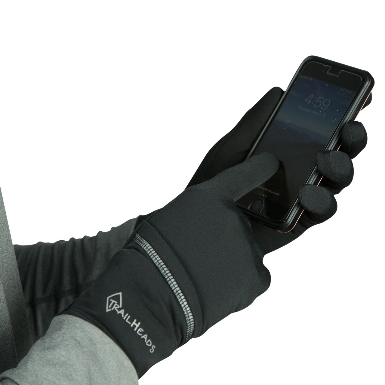 touch screen compatible thumb and forefinger