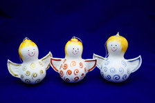 This adorable gourd angel will make you smile!