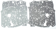 Valve Body Separator Plate Gasket Set, 4T65E (1997-UP) Upper & Lower