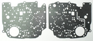 Valve Body Separator Plate Gasket Set, TH350 (1969-1980) Upper & Lower w/o Lock Up
