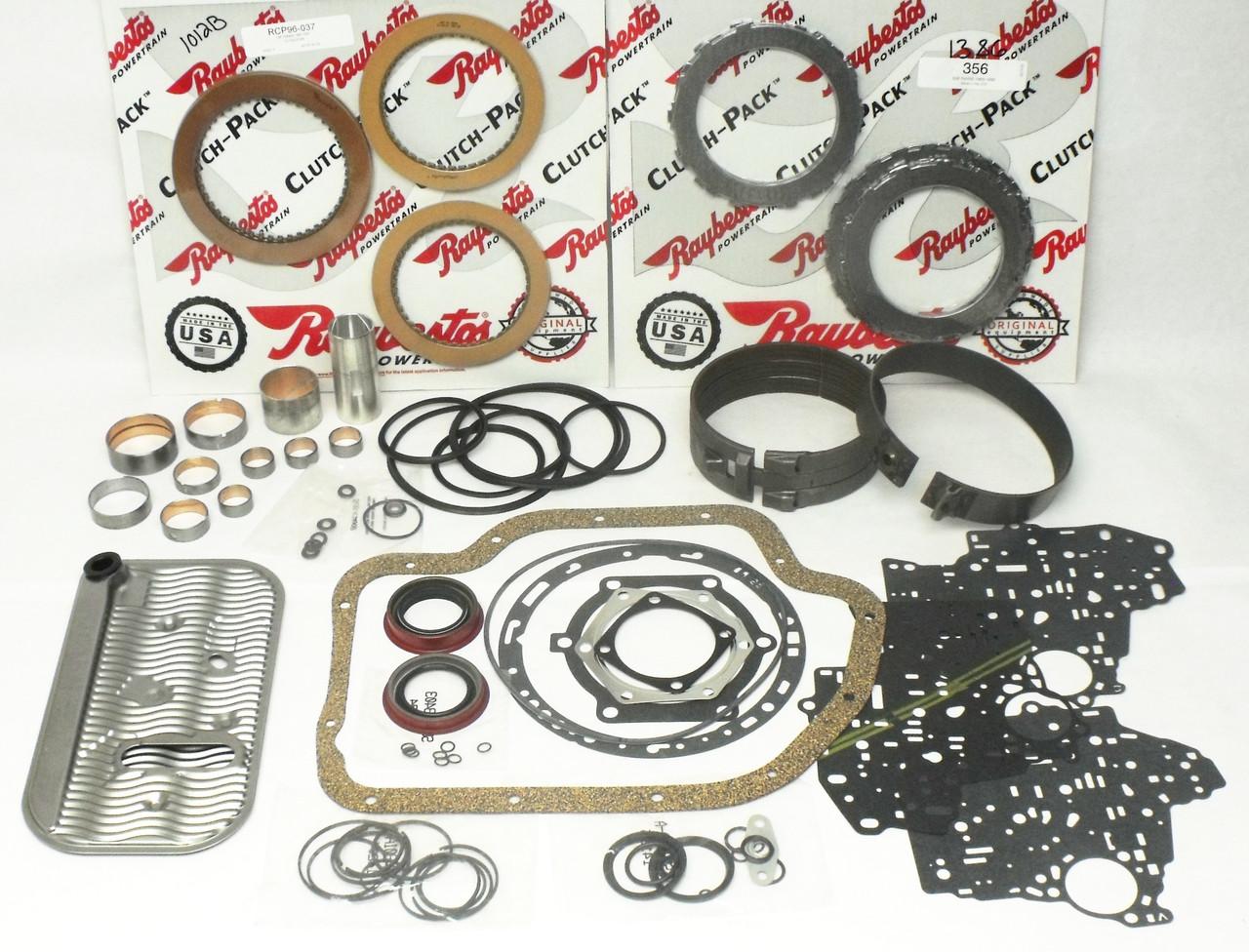 """Turbo 400 th400 transmission 4"""" tail, rebuilt th400, rebuilt turbo."""