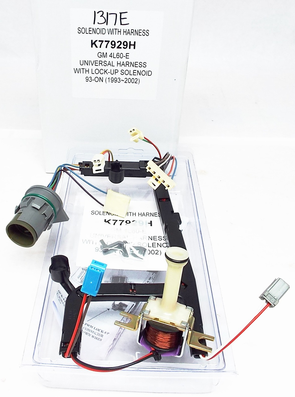 Wire Harness W Tcc Lock Up Solenoid 4l60e 1993 2002 Gm Wiring Diagram Larger More Photos