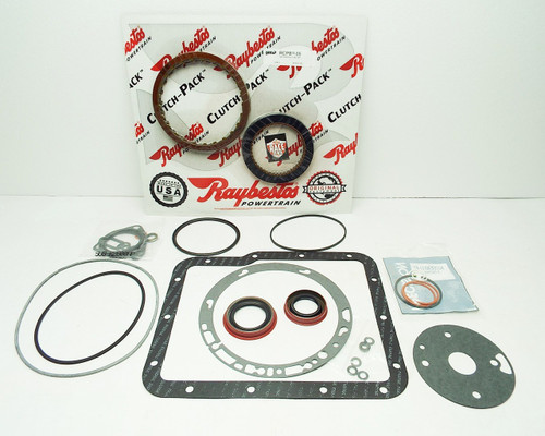 Banner Rebuild Kit W Gen2 Blue Plate Special Frictions Powerglide
