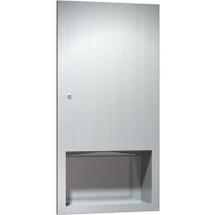 ASI (10-6452) Recessed Paper Tower Dispenser (Multi, C-Fold)