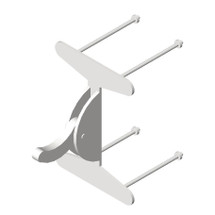 ASI (10-121) Clothes Hook - Rear Mounting