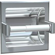 ASI (10-7402-B) Recessed Single Toilet Paper Holder-Bright